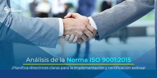 Análisis e Implementación de la Norma ISO 9001:2015 - CDMX