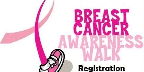 CECC Breast Cancer Walk Registration 2019
