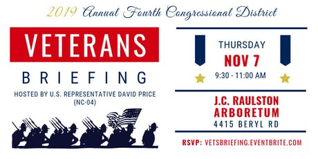 2019 Annual Veterans Briefing for the Fourth Congressional District tickets