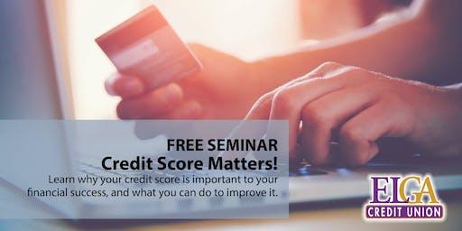 Credit Score Matters! - Flushing