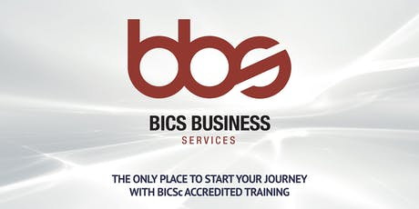 BICSc Four Day Accredited Trainer Bundle: 1st - 4th December 2020 tickets