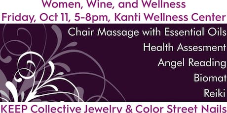 Women, Wine, and Wellness with Kanti, KEEP Collective, and Color Street tickets