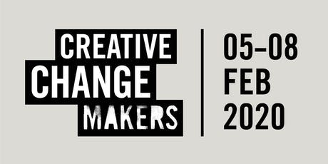 Creative Change Makers 2020 tickets