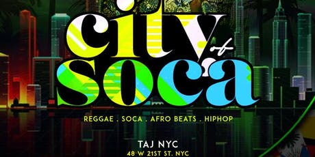 City Of Soca | Open Bar & Free Entry  tickets