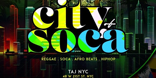 City Of Soca | Open Bar & Free Entry