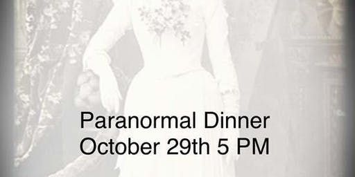Paranormal Dinner