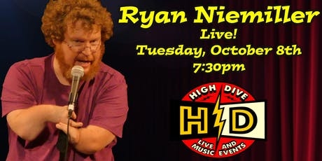 Comedian Ryan Niemiller - America's Got Talent Finalist! tickets
