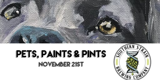 Pets, Paints & Pints at Southern Strain Brewing Co.