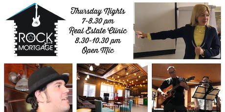 Real Estate Clinic & Open Mic presented by RockYourMortgage.Ca tickets