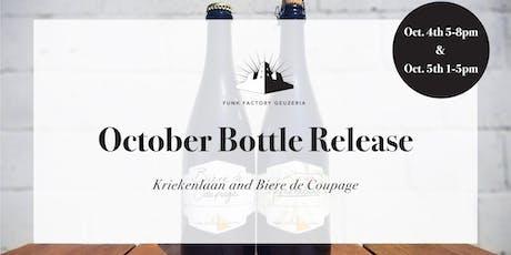 October 2019 Release- Kriekenlaan and Biere de Coupage tickets