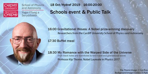 Schools Event: Kip Thorne: My Romance with the Warped Side of the Universe