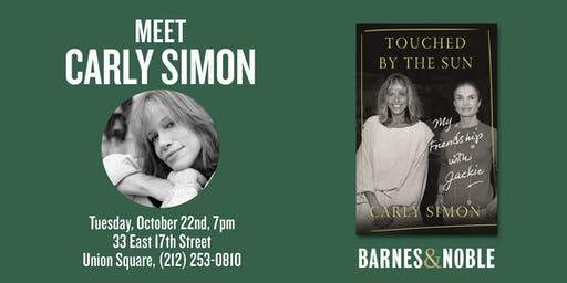 Carly Simon at Barnes & Noble Union Square NYC