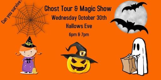 Ghost Tour & Magic Show Spooktacular