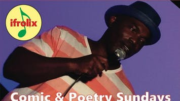 Comedy and Poetry Sundays with DJ mixing R&B, Pop, Dance and More