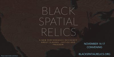Black Spatial Relics: Artist Talks with Julie B Johnson and muthi reed
