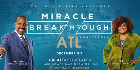 Miracle Breakthrough Conference 2019 tickets