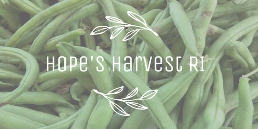 Gleaning Trip with Hope's Harvest - Monday, 9/23 10:00-12:00