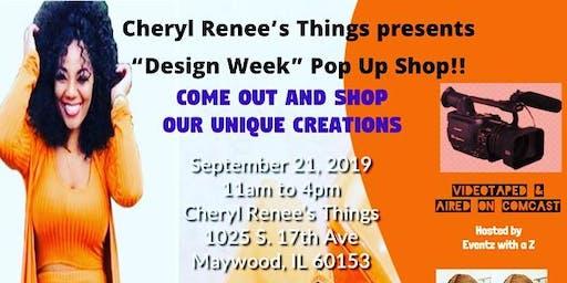 """Design Week"" Pop Up Shop!!"