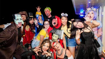 Halloween Night Yacht Party Cruise