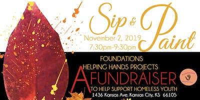 Sip N' Paint Fundraiser