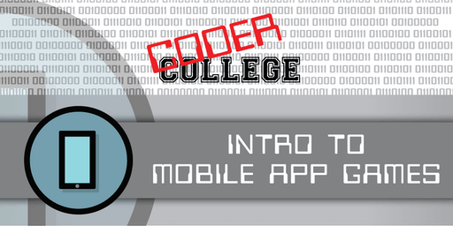 Coder College 2019 Term 4  - Intro to Mobile App Games (Home Schooled)