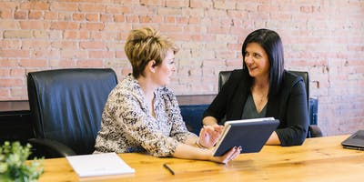 Affinity Business Brainstorming meeting for women business to owners to share, solve & inspire