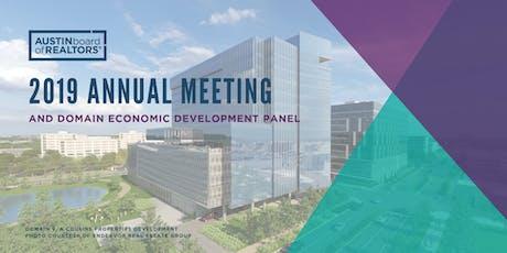 2019 ABoR Annual Meeting & Domain Economic Development Panel tickets