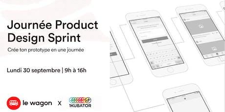 Journée Product Design Sprint tickets