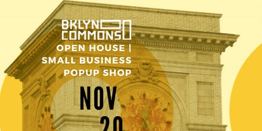 3rd Annual Open House | Small Business Pop Up Shop