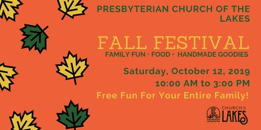 Fall Festival at Church of the Lakes