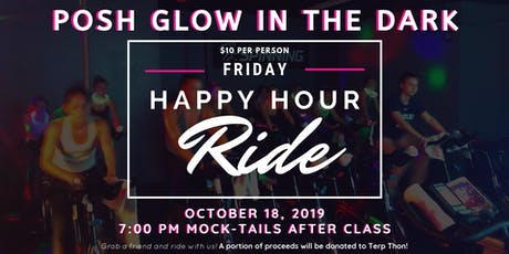 Posh Glow in the Dark Happy Hour Ride for Terp Thon tickets
