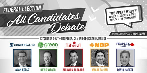 Federal Election All-Candidates Debate