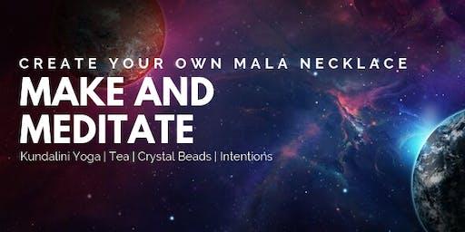 Make & Meditate - Mala necklace