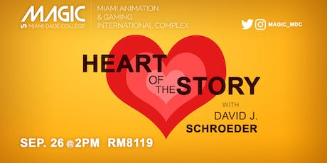 Workshop with Professor David J. Schroeder- The Heart of the Story tickets
