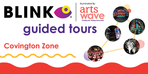 ArtsWave's BLINK Projection Mapping Tour - Covington Zone