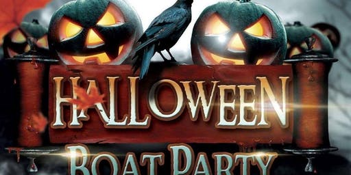 Halloween Yacht Party--With OPEN BAR!