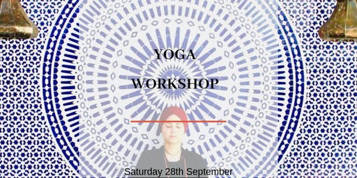 Yoga Workshop with Aicha from Beyoga