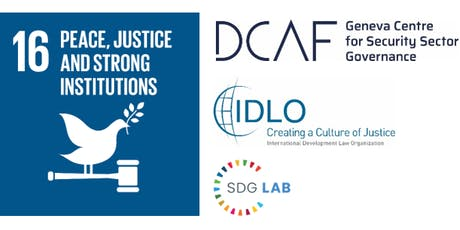 Linking Peace, Justice and Development through Good Governance in the SDGs tickets