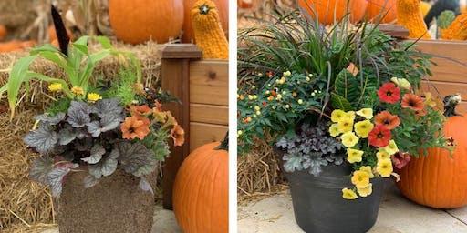 Fall Porch Pot Workshop - Muncie