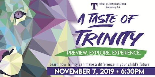 A Taste of Trinity 2019