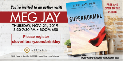 Catherine Lee Brinkley Memorial Lecture Series: Meg Jay