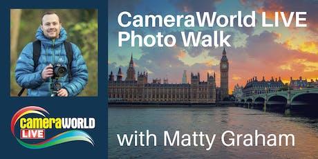 Photo Walk - Matty Graham tickets
