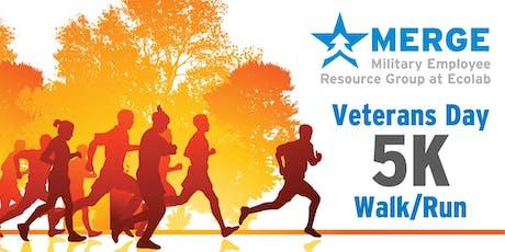 **OLD LINK--DO NOT USE**MERGE 2019 Veteran's Day 5K Walk/Run tickets