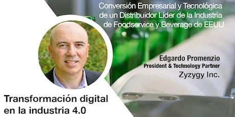Transformación Digital en la Industria 4.0 entradas