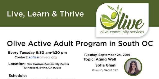 Olive Active Adult Program