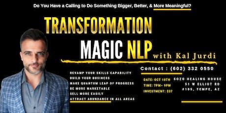 Transformation Magic NLP tickets