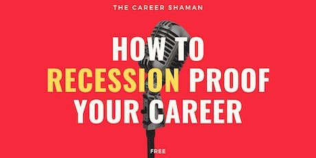How to Recession Proof Your Career - Oostende tickets
