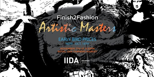 Finish2Fashion Ticket Sales - ON SALE NOW!