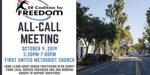 SB Coalition for Freedom All-Call Meeting