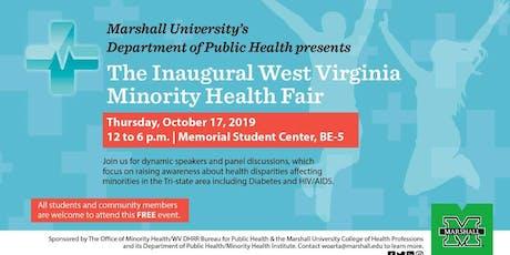 The Inaugural West Virginia Minority Health Fair tickets